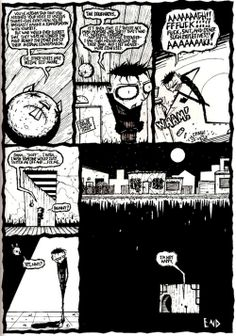 Johnny the Homicidal Maniac #jthm #nny #jhonenvasquez #comic