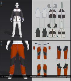 cloth in marvelous designer 3d Fashion, Virtual Fashion, Fashion Sewing, 3d Pattern, Pattern Design, Clothing Patterns, Sewing Patterns, Logo Pdf, Design Thinking