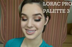 NEW!! Lorac Pro Palette 3 Makeup Tutorial + First Impressions || Æ Beauty ♡