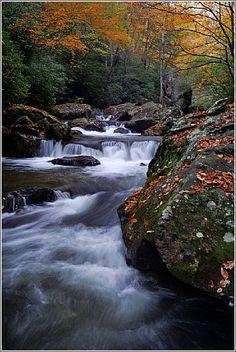 Saluda River in Jones Gap State Park - South Carolina