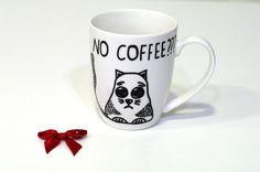 Crazy Cat lady mug - Funny mug Cat coffee mug - Unique Mother's day gift for her - Kitten mug - Coffee cup - Meow mug - Cat owner mug