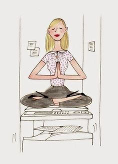 I will remain calm as I pay bills Paris Illustration, Yoga Illustration, People Illustration, Pretty Drawings, Beautiful Drawings, Drawing Sketches, Art Drawings, Little App, My Little Paris