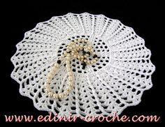 Edinir-Croche: toalhinhas em croche