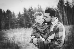 Dad and son photo