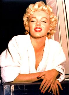 """Marilyn Monroe on the set of The Seven Year Itch. """