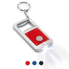 Bottle opener with light