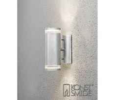 Modena Vegglampe opp/ned GU10 Galvanisert | Elektroimportøren AS