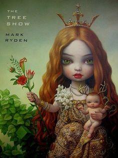 new art book The Tree Show by Pop Surrealist painter, Mark Ryden.
