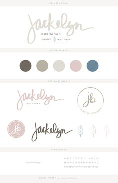 Brand reveal for Jackelyn Buchanan | Branding | Brand Board | Logo Design | Graphic Design | Design Inspiration | Logo Ideas | Brand Ideas | Website Design | Color Palette | August and White