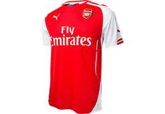 Puma Arsenal Home Jersey 2014-2015...at SoccerPro now!