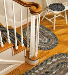 Polypro Braided Rug, Chair Pad And Stair Tread In Moss Multi. Great For  Kitchens, Mudrooms And Even Outside.