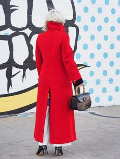 I finally found the perfect red statement coat. Click to view the whole outfit