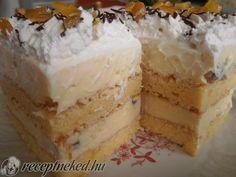 Hungarian Recipes, Hungarian Food, Cake Bars, Vanilla Cake, Cookie Recipes, Cheesecake, Food And Drink, Xmas, Sweets