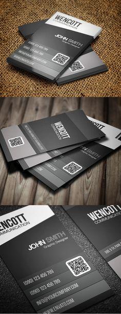 Designers Business Card PSD Templates - 8 #businesscards #psdtemplates #businesscarddesign #premiumbusinesscards
