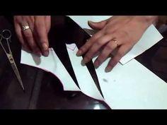 """Como hacer el trazo de la blusa con pliegues """" Peticion """" - YouTube"""