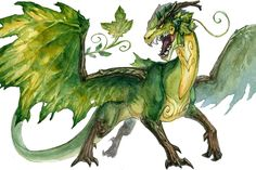 Forest Dragon by Kutty-Sark.deviantart.com on @deviantART