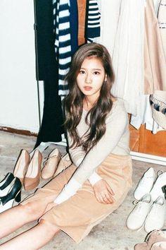 TWICE's Sana is dreamy in photo blog 'Pholar'   allkpop.com
