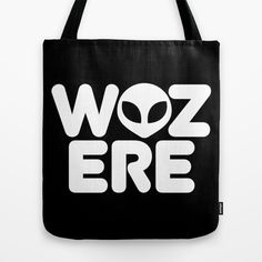 WAS HERE - Been there, done that. @ http://society6.com/VectorVectoria/Was-Here_Bag#26=197