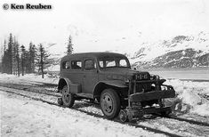 Dodge Power Wagon Dodge Trucks, 4x4 Trucks, Cool Trucks, Locomotive, Dodge Power Wagon, Rail Car, Old Tractors, Train Pictures, Rolling Stock