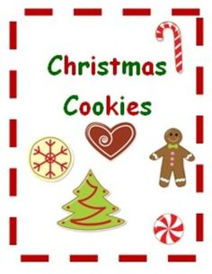 This cute Christmas cookie adapted book can be used as an interactive read aloud or a reading comprehension activity. The file includes:               - simple 6 page book              - picture pieces to go in the book              -pieces to a file folder game  This is perfect for beginning readers to practice comprehension.
