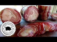 Pancetta Artesanal - YouTube Pork Belly Recipes, Chicken Recipes, Charcuterie, Salami Recipes, Italian Street Food, Peruvian Recipes, Italian Recipes, Sausage, Food And Drink