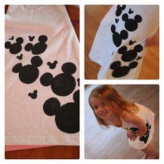 vestido Mikey Mouse, para nenas!