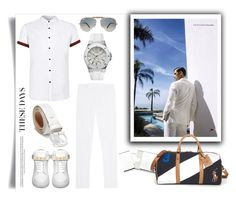 """""""Georg"""" by ildiko-olsa ❤ liked on Polyvore featuring Dsquared2, Topman, BUSCEMI, Georg Jensen, Ray-Ban, Salvatore Ferragamo, GUESS, Polo Ralph Lauren, mens and men"""