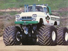 Skoal Bandits Truck from the 80s