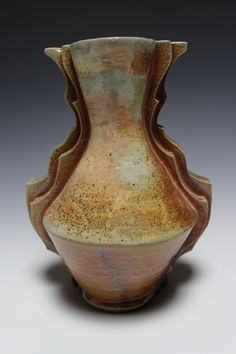 Wood fired vase by Lauren Young
