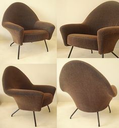 Funny lounge chair designed by Joseph-Andre Motte