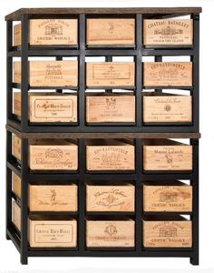 The Pomerol 18 Drawer Cabinet From The Bordeaux Collection.  Www.hobbsgermany.de