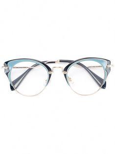 669a9c2b1df8c Miu Miu Eyewear cat eye glasses  MiuMiu