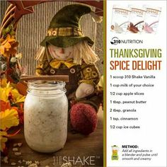 310 Nutrition- Not only for Thanksgiving... Drink anyday.