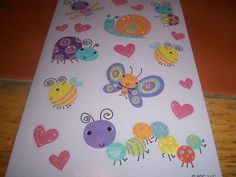 Glitter Bug Stickers
