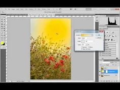 ▶ Efectos de luz con degradados en Photoshop - YouTube