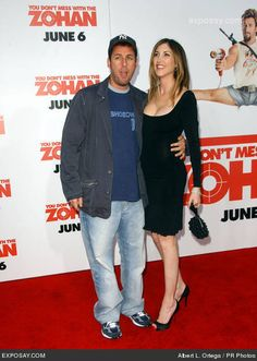 Adam Sandler and Jackie Titone were married at a private ...