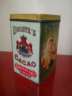 Droste's Cacao & Chocolade Vintage tin Chocolate Holland