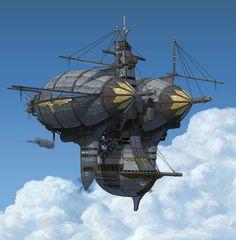 Airship by jay choi