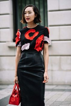 Street style from the haute couture autumn/winter fashion week in Paris