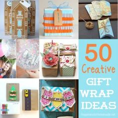gift wrapping ideas   Gift Wrap Ideas