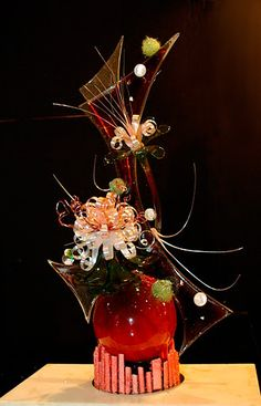Sugar Showpiece created by Ronald van Haarlem - The Chicago School of Mold Making