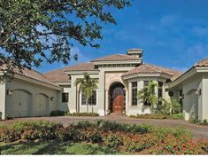 MY Favorite!!! Mediterranean House Plan with 4049 Square Feet and 4 Bedrooms from Dream Home Source | House Plan Code DHSW53149