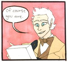 Video Games And Robots - Oh dear Good Omens Book, Body Swap, Drinking Buddies, Making Faces, Everything Is Awesome, Crowley, Figure It Out, Old Movies, His Eyes