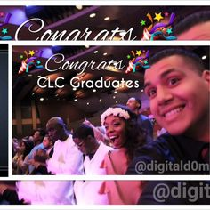 Congrats to ALL of the 1st & 2nd Year @clc_connect Grads!! I uploaded all the pictures to www.digitald0m.com/clc (click&save,enjoy)  ⛅️BIG thanks to the amazing staff, supportive family & friends who made this all possible. ⛅️(tag your peeps) .Stay blessed everyone & I look forward to your success