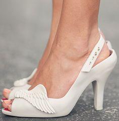 Angel wing shoes?! Haha! Pi Phi Angels #piphi #pibetaphi