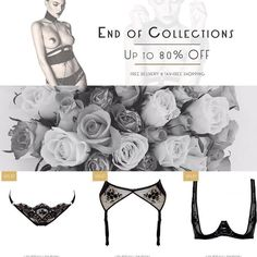 LAST PIECES !!! UP To - 80%  Luxury Lingerie & Accessories Designers : Absainte Loveday London Edge O Beyond Bordelle Pretty Wild Bodybinds Murmur. Dont Miss out !   FREE DELIVERY WORLDWIDE  500   TAX-FREE SHOPPING (i.e. -20% discount) For non EU customers   15-DAYS To try & 30-DAY Returns  #lastpiece #brigademondaine #brief #bra #suspender #designer #lingerie #luxury #endofcollection #dontmiss #lovedaylondon #set #sexy #fashion #lovefashion #beautifullingerie #beyourself #sexy #set…