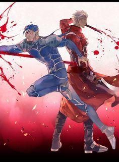 Anime Guys, Manga Anime, Anime Art, Fate Archer, Archer Emiya, Shirou Emiya, Fate Stay Night Anime, Fate Characters, Fate Servants