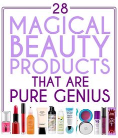 28 Magical Beauty Products That Are Pure Genius!! #tipit #Beauty #Trusper #Tip