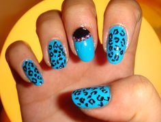 Nail Designs With Cheetah for Girl