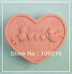 Aliexpress.com : Buy Free shipping!!!1pcs Bird with Love(50248) Silicone Handmade Soap Mold Crafts DIY Mold from Reliable Silicone Soap Mold suppliers on Silicone DIY Mold and  Home Supplies Store $15.78